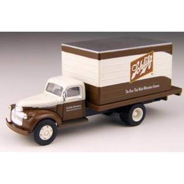 Classic Metal Works 41/46 Chevrolet Delivery Truck - Schlitz Beer