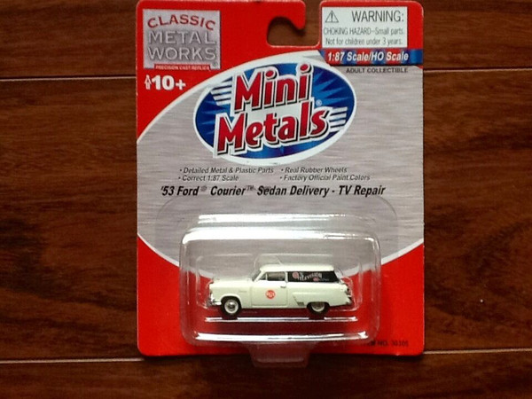 Classic Metal Works '53 Ford Courier Sedan Delivery TV Repair