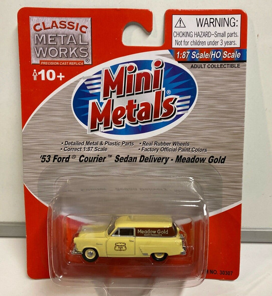 Classic Metal Works '53 Ford Courier Sedan Delivery Meadow Gold