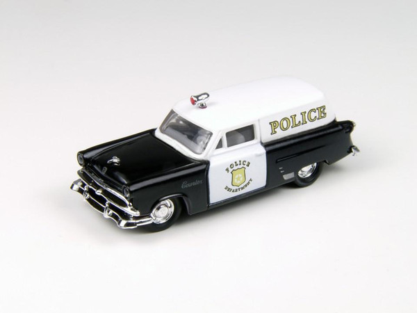 Classic Metal Works '53 Ford Courier Sedan Delivery Police Vehicle