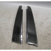 1997-2003 BMW E39 5-Series Exterior High Gloss Shadow Line Pillar Trim Set OEM - 25677
