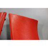 2014-2017 BMW F85 X5M F86 X6M Rear Seat Side Bolster Pair Mugello Red Leather OE - 27347