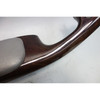 BMW E46 3-Series 2door Interior Side Door Armrest Pair Grey Leather Myrtle Wood - 27429