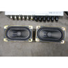 2000-2006 BMW E53 X5 Factory Rear DVD Entertainment System Screen Player Set OE - 27434