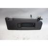 2007-2013 BMW E70 X5 SAV Right Front Passenger's Sun Visor Black Vinyl OEM - 28262