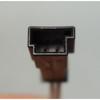 2004-2006 BMW E83 X3 SAV Early Front Sun Visor Pair Sand Beige Vinyl OEM - 28559