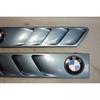 1996-2002 BMW Z3 Roadster Coupe Front Hood Side Cowl Grilles Atlanta Blue OEM - 29333
