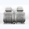 2006-2010 BMW E60 M5 ///M Multifunction Climate Front Seats Black Merino Leather - 29642