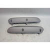 2001-2006 BMW E46 M3 Coupe Rear Side Armrest Pair Titan Grey Napa Leather OEM - 30113