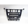2004-2007 BMW E60 E61 5-Series Center Dashboard CCC Radio Cover Trim Black Wood - 30613