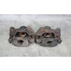 Damaged BMW E39 M5 Factory Front Brake Caliper Pair Brackets 2000-2003 OE - 31157