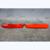 99-02 BMW Z3 Rear Bumper Side Marker Red Reflector Left Right Pair NLA OEM - 30833
