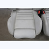1995-1999 BMW E36 M3 Coupe Front Vader Seat Pair Manual Heat Grey Leather OEM - 31852