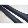1994-1999 BMW E36 3-Series Convertible Front Windshield A- Pillar Covers Black - 33254