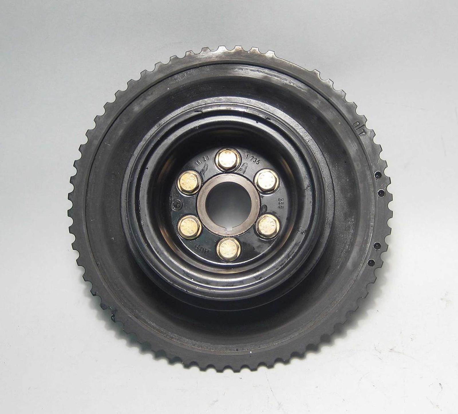 BMW M50 S50 M52 S52 Crank Pulley Vibration Damper Complete 1993-2000 OEM  USED
