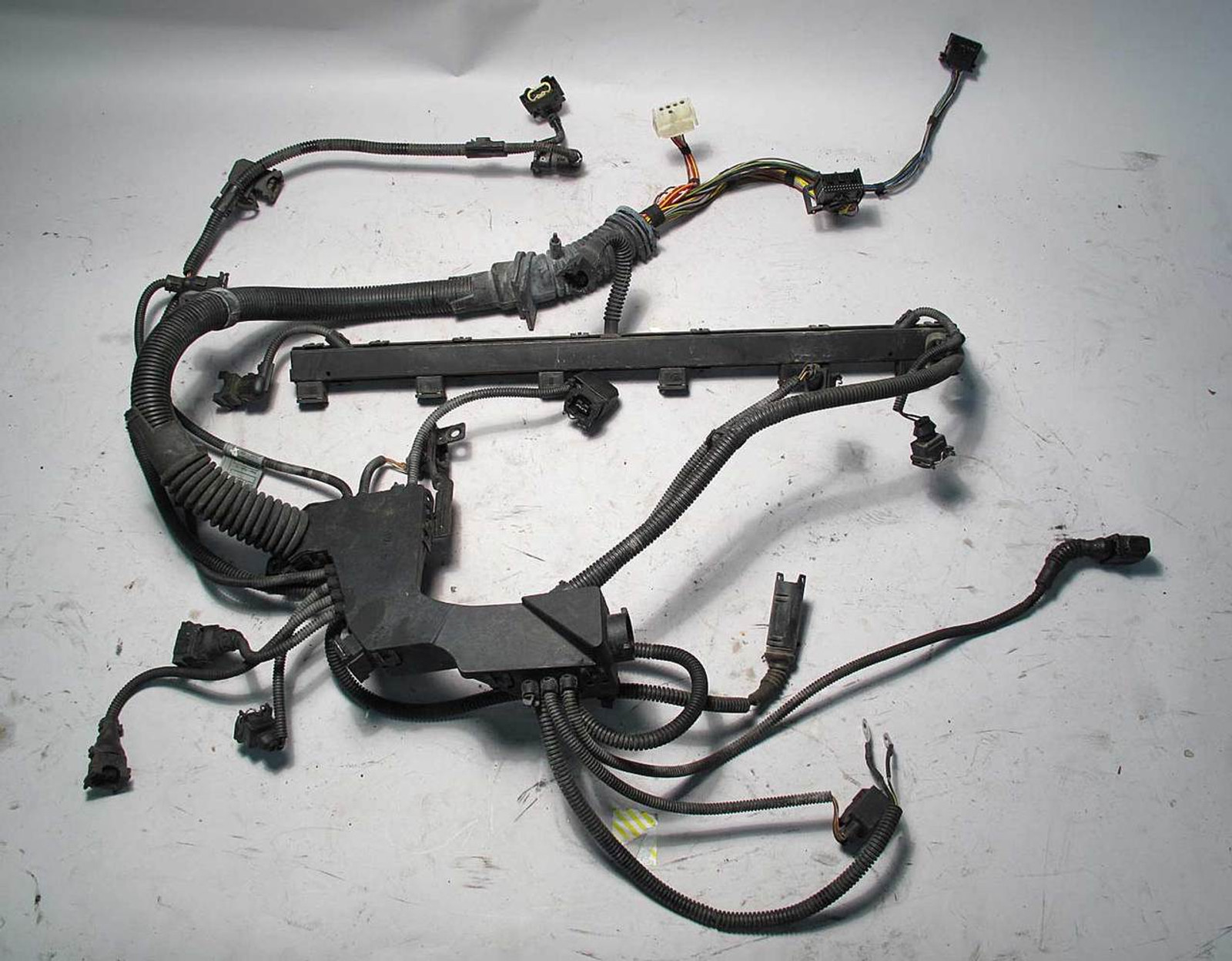 bmw e46 3 series m54 engine wiring harness complete 03 03 2003 2006 used oem BMW E46 Temp Wiring Harness
