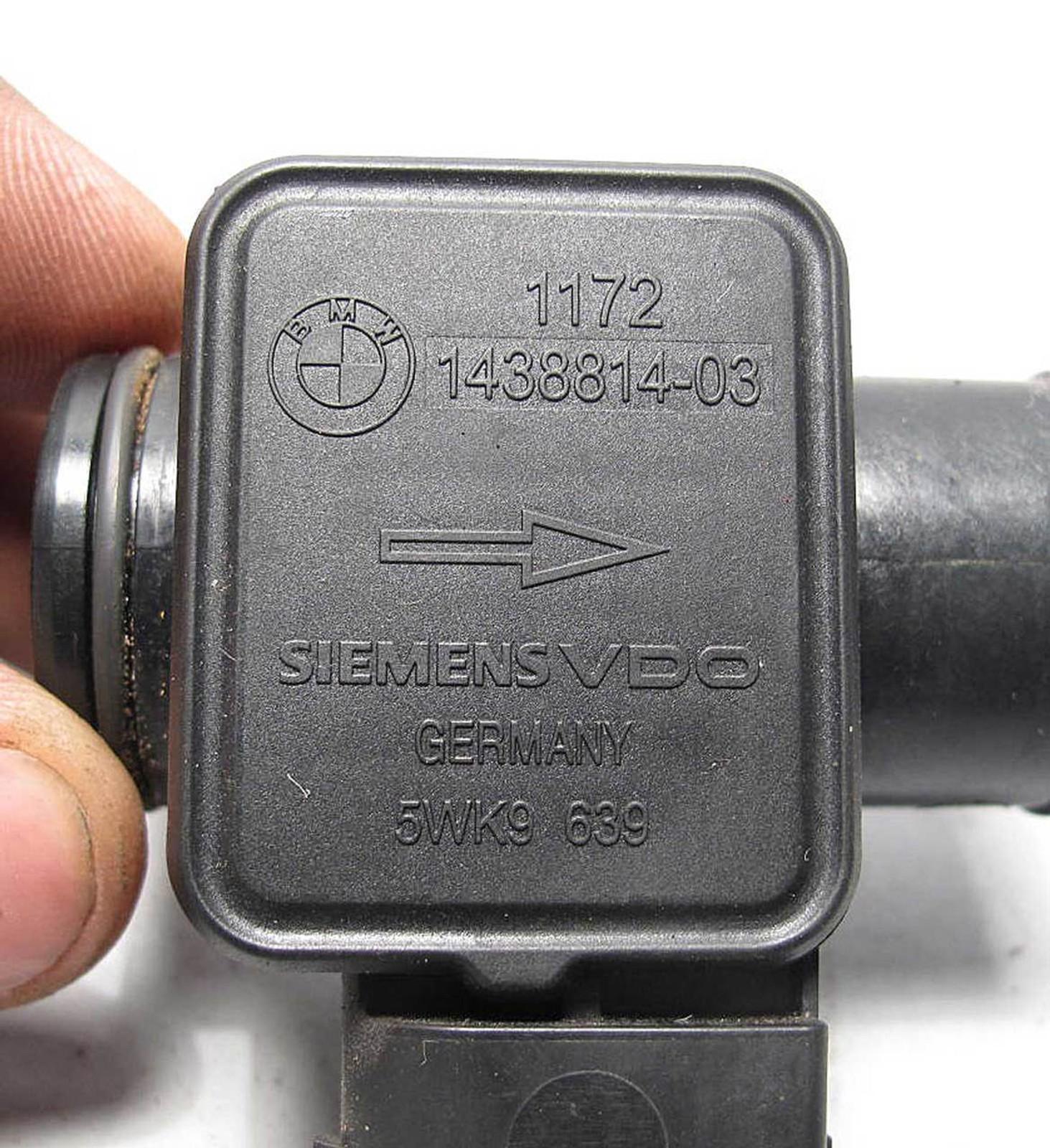 2003-2006 BMW Secondary Air Emissions Pump Mass-Air Flow Meter MAF E46 E60 X5 X3