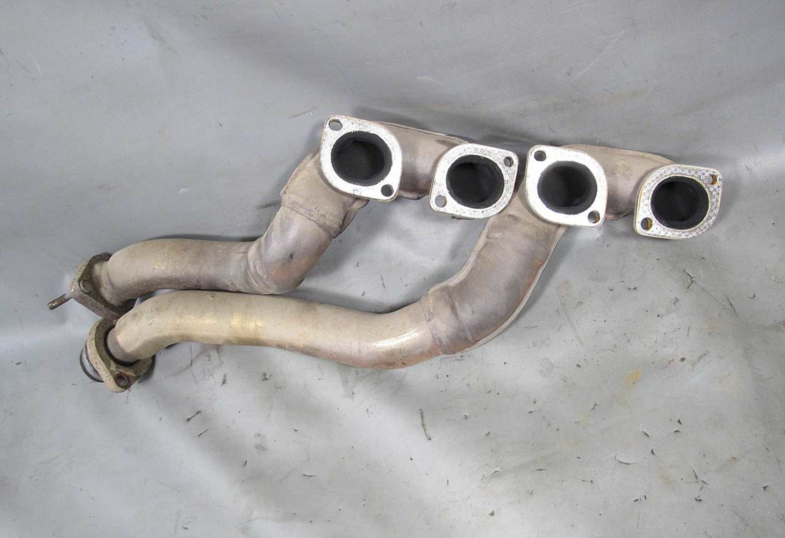 BMW M60 3 0L 4 0L V8 Bank 2 Factory Exhaust Manifold Pair Tubular 1994-1997  USED