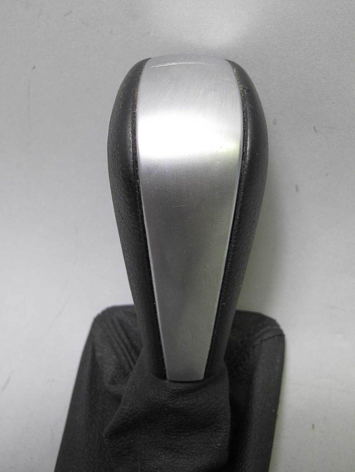 Bmw E90 E92 E93 3 Series Shift Knob Chrome Black Leather W Boot For Auto Oem