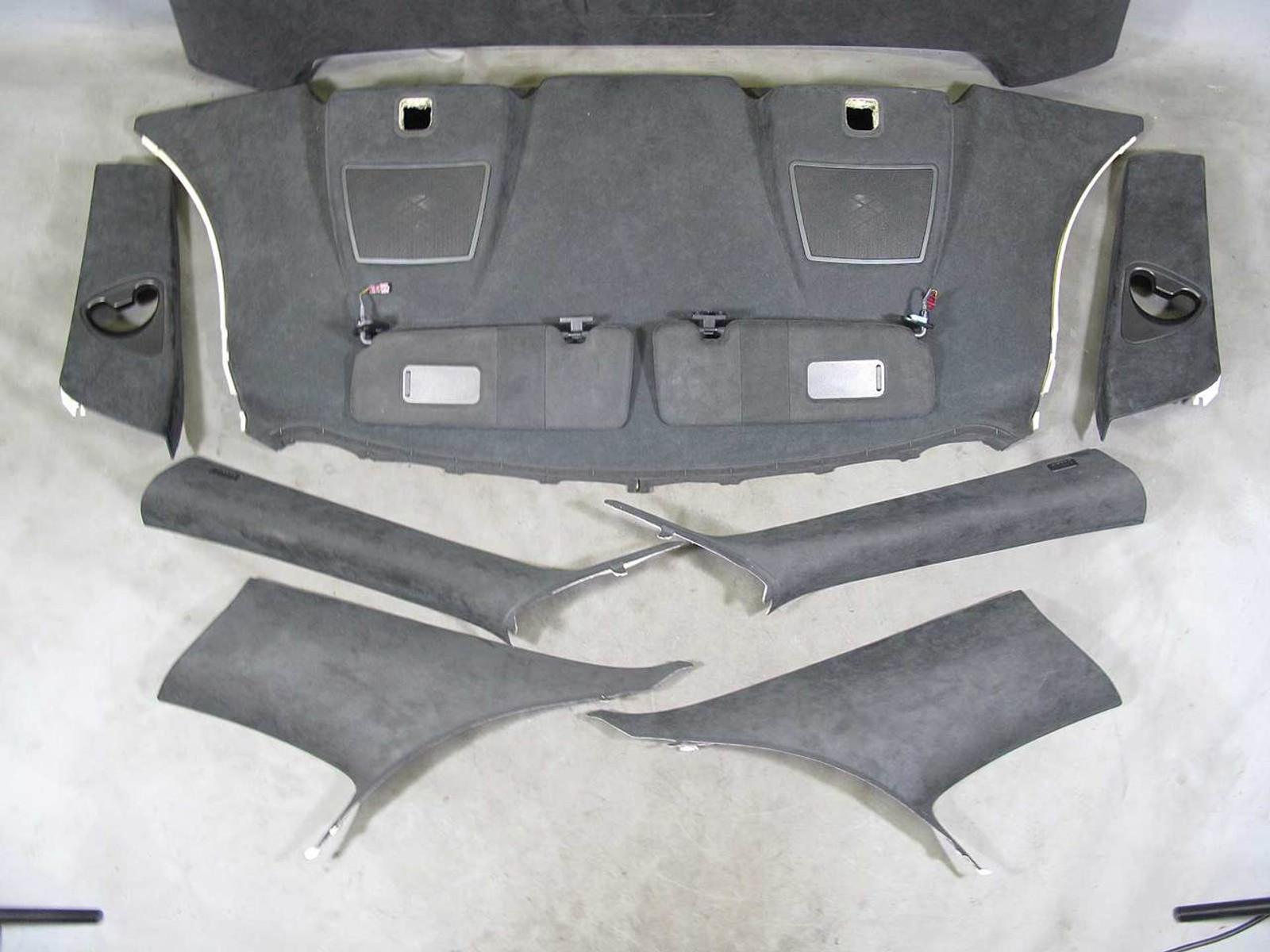 BMW E63 650i Coupe Alcantara Imitation Leather Interior Conversion Kit Rare  OEM