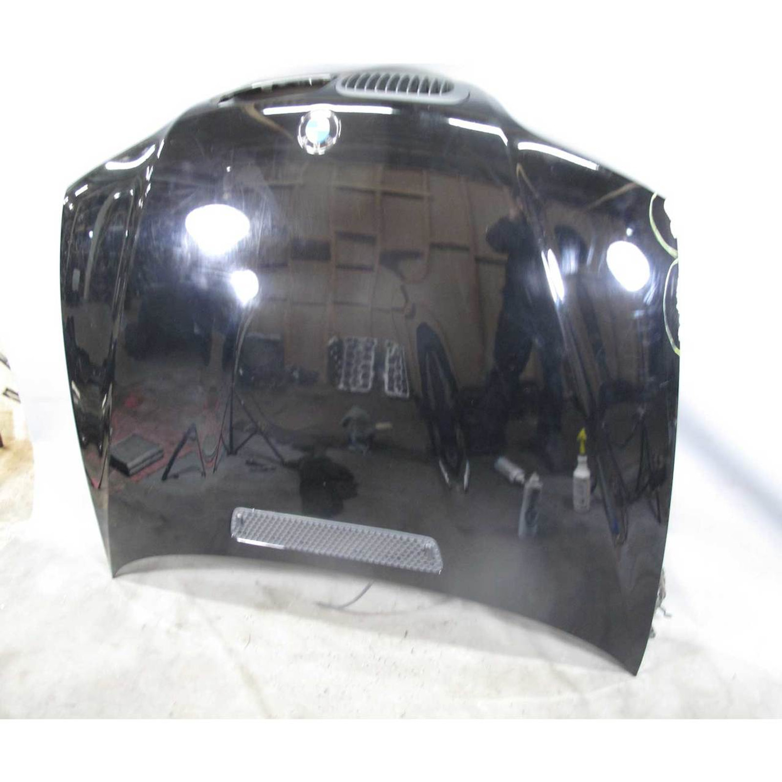 2000 2006 Bmw E46 3 Series 2door M M3 Front Hood Bonnet Panel Black Aluminum
