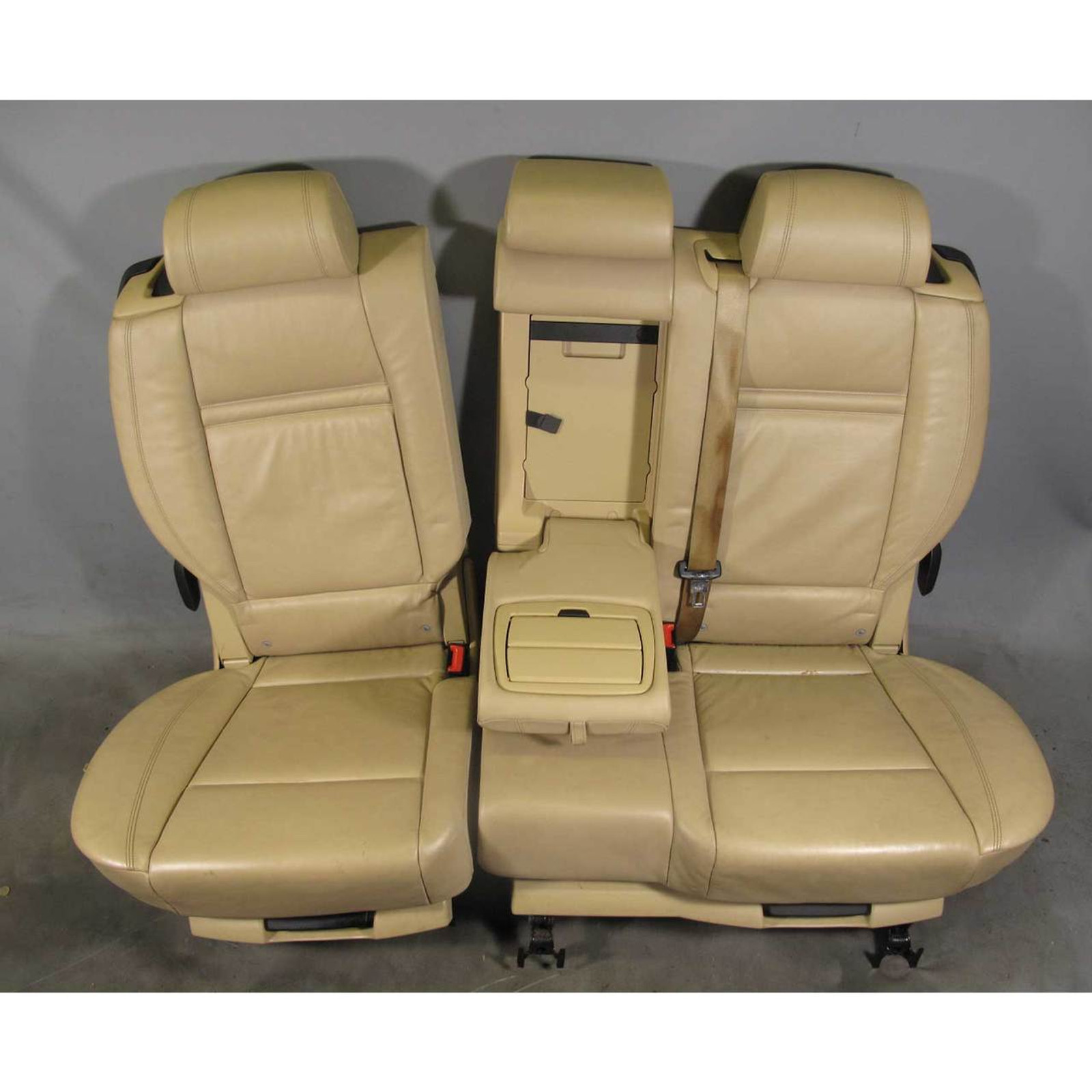 Astounding 2007 2013 Bmw E70 X5 Sav Factory 2Nd Row Seating Beige Napa Leather For 3Rd Row Onthecornerstone Fun Painted Chair Ideas Images Onthecornerstoneorg