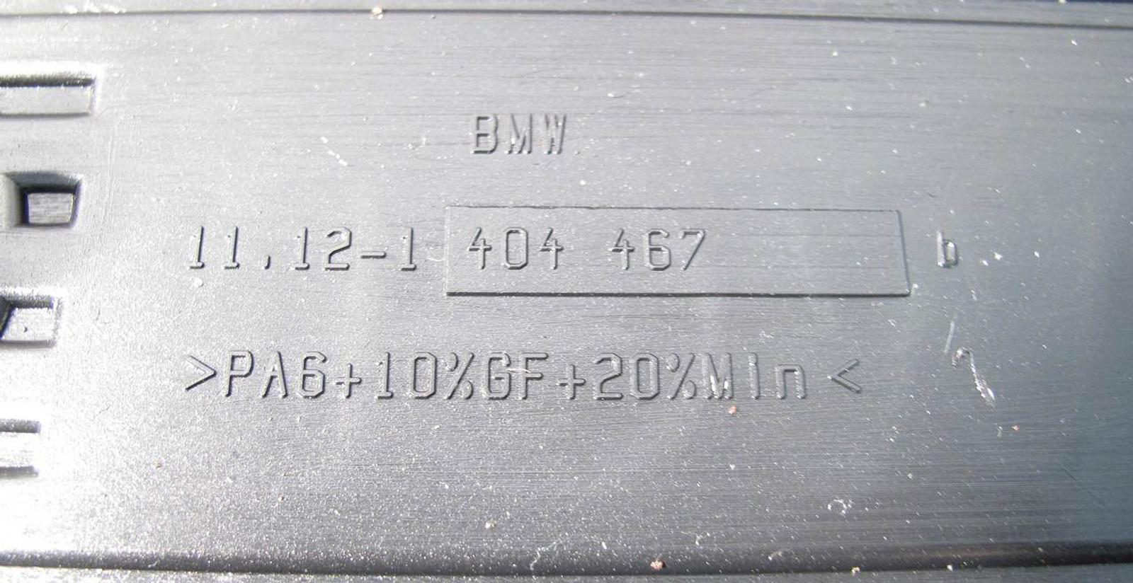 BMW S52 Plastic Engine Cover M-Power 1996-2000 E36 M3 3 2 Z3 M3 2 USED OEM