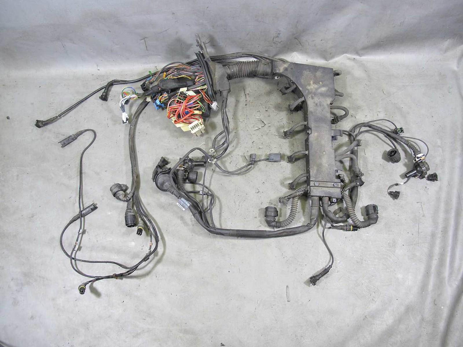 BMW E38 M73N M73TU 750iL 5.4L V12 Engine Wiring Harness Complete 1999-2001  - Prussian MotorsPrussian Motors