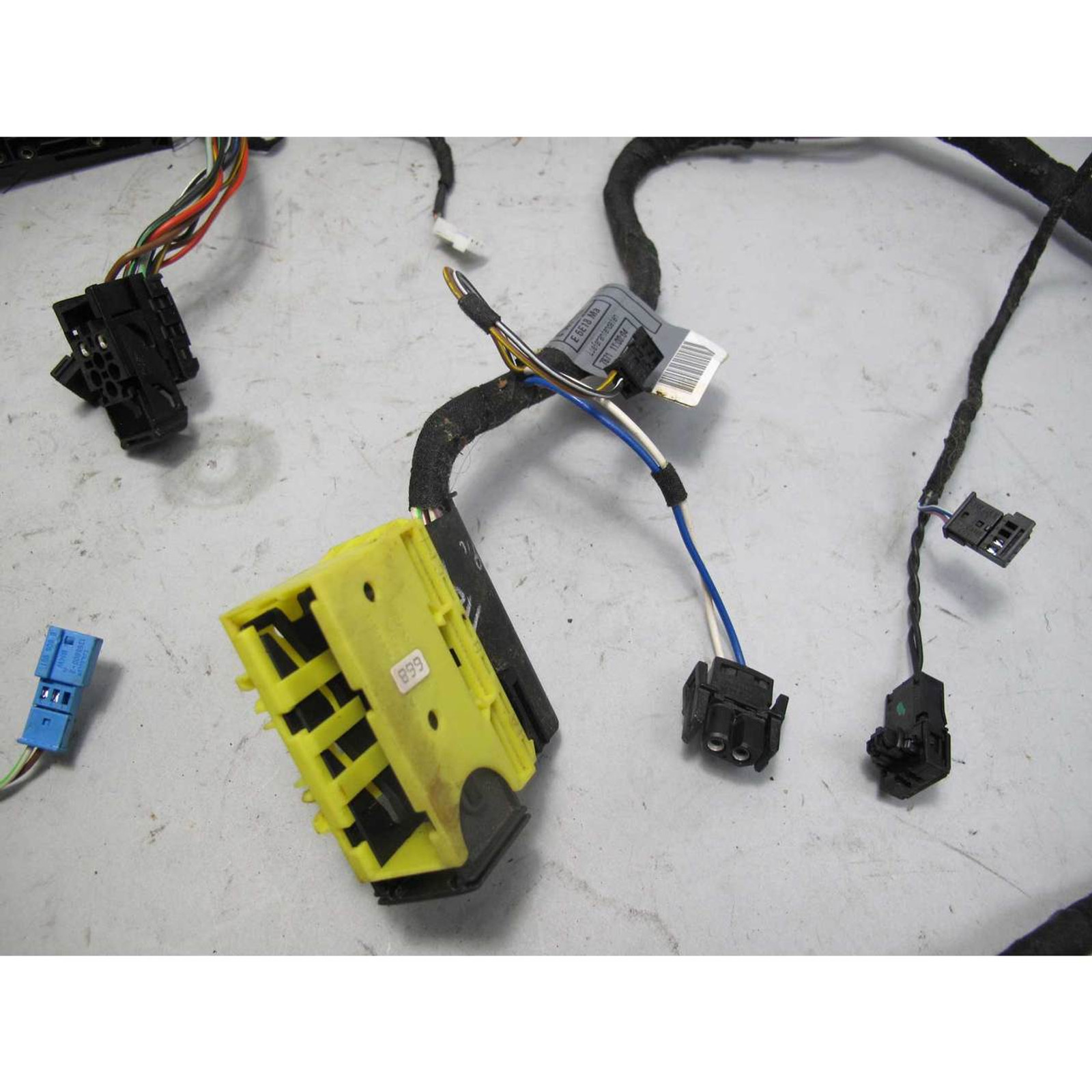 1999 2003 bmw e38 7 series e39 right front comfort seat wiring