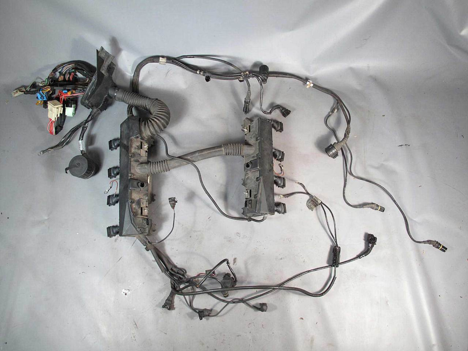 BMW E38 740i 740iL M62TU 4.4L V8 Engine Wiring Harness Complete 1999-2000  USED - 7628 - Prussian MotorsPrussian Motors