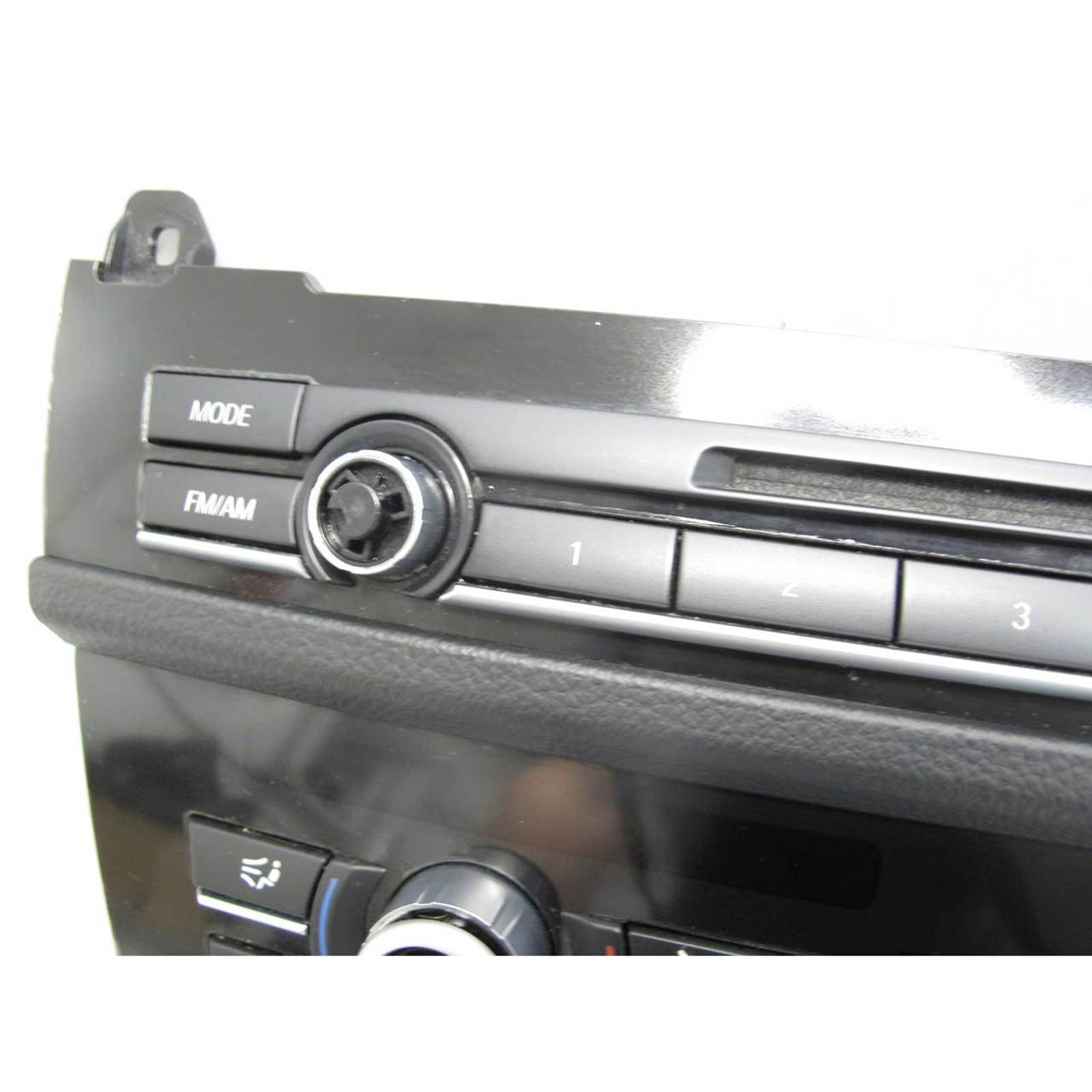 2011-2013 BMW F10 5-Series Climate Control and Radio Head Unit Interface  Panel - 20159