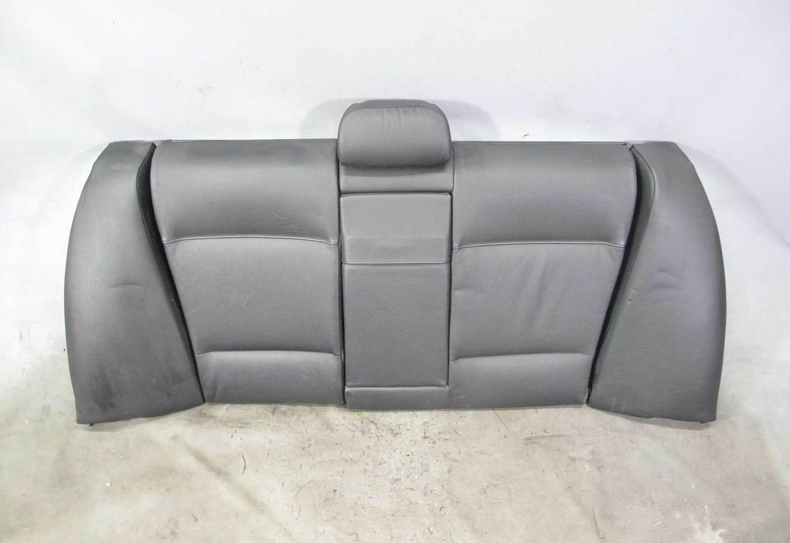 1999 2005 Bmw E46 3 Series Sedan Rear Folding Seat Backrest Black Leather Oem 21727 Prussian Motors