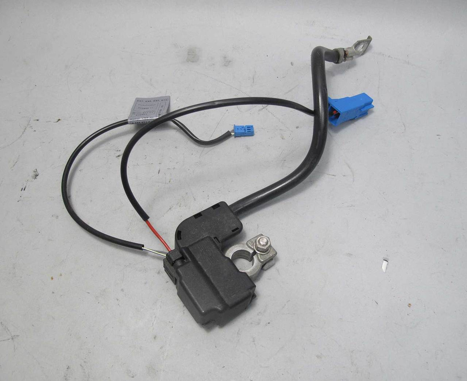2006-2013 BMW E90 3-Series Factory Negative Battery Cable Post Fuse IBS OEM  - 21857