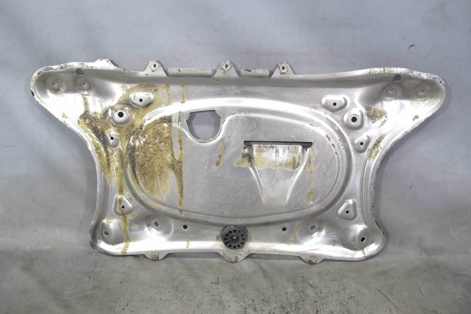 2001-2008 BMW E46 M3 Z4 M Engine Belly Metal Pan Reinforcement Skid Plate w  Bend - 21912