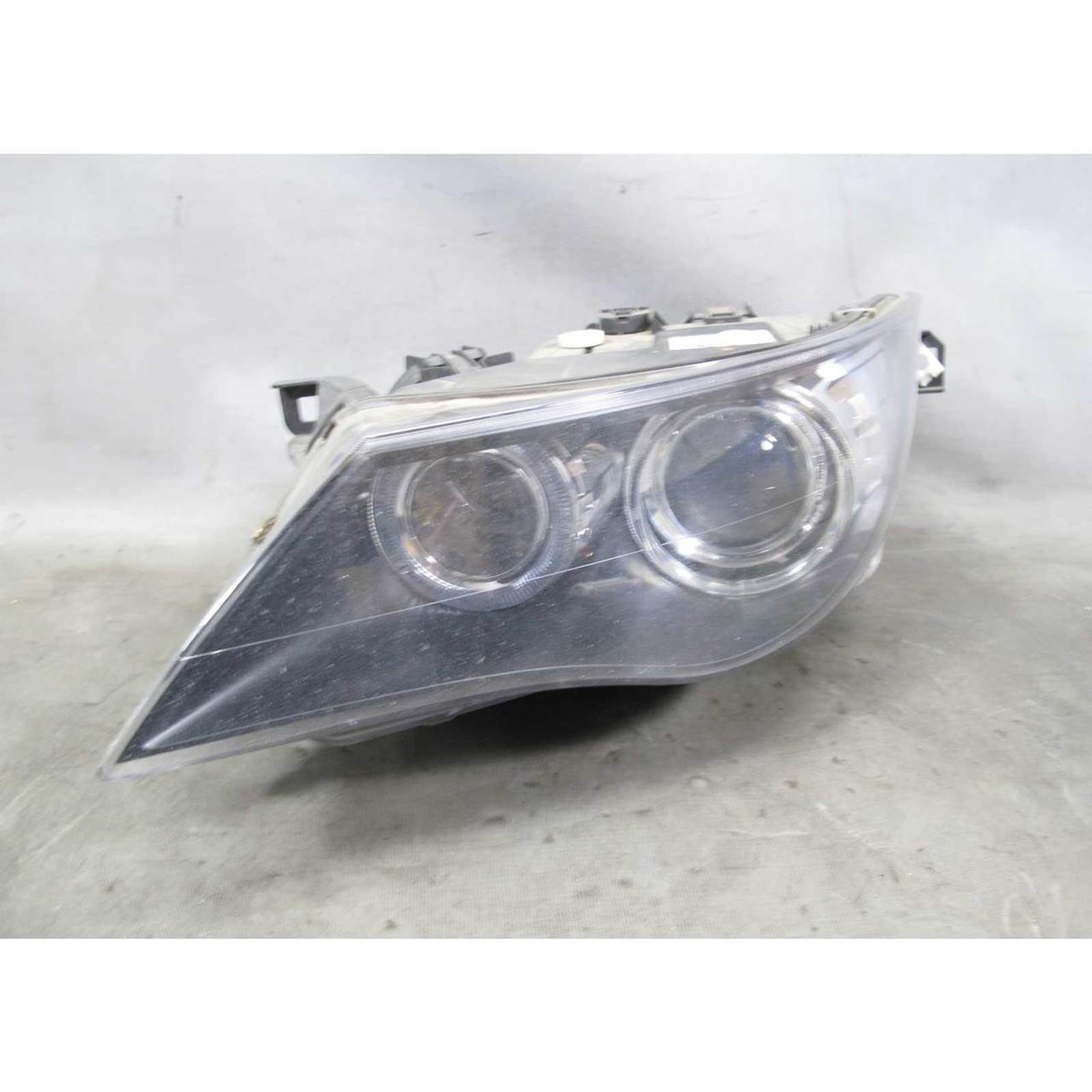 Damaged 2008-2010 BMW 6-Series Left Xenon Adaptive Headlight Parts Repair  E64
