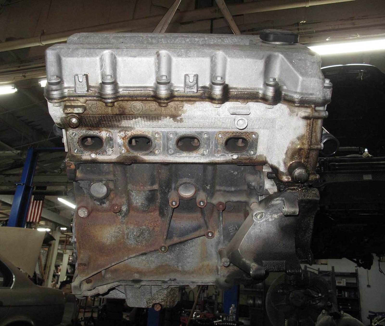 BMW E36 318 Z3 1 9 M44 4-Cylinder Engine Assembly Long Block 91k 1996-1999  OEM - 21921