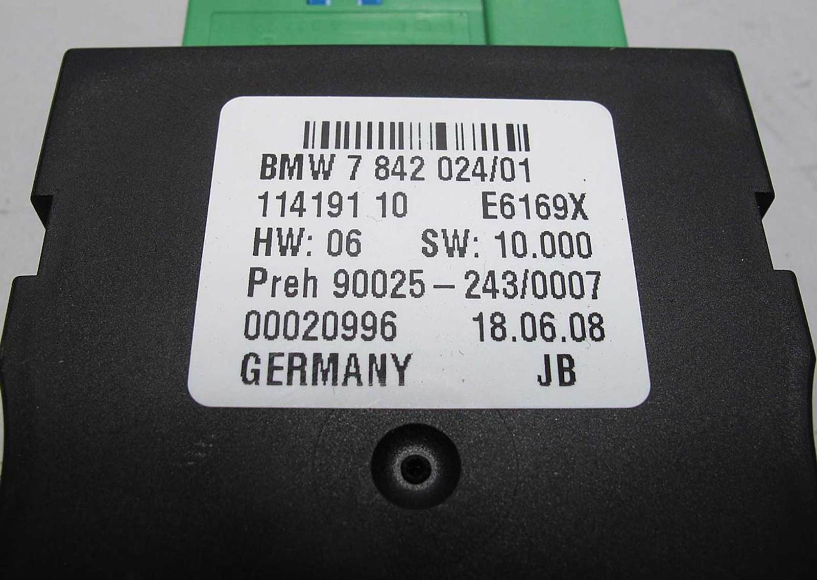 BMW E90 E92 M3 //M S65 Fuel Pump EKP Control Module w Pigtail 2008-2013  USED OEM - 10576