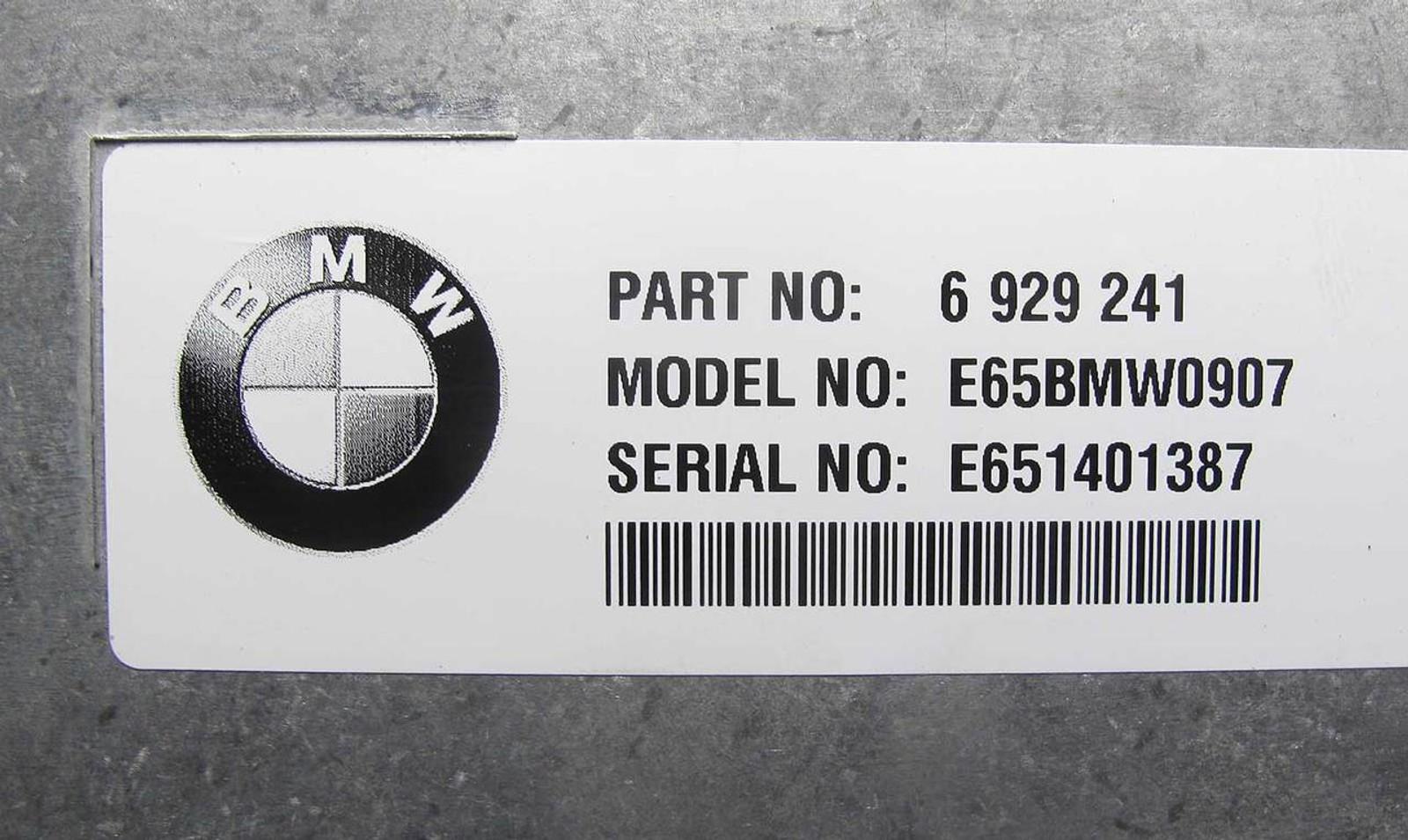 Damaged 2002-2003 BMW E65 E66 7-Series Early Telematics Telephone ComBox  Module - 22507