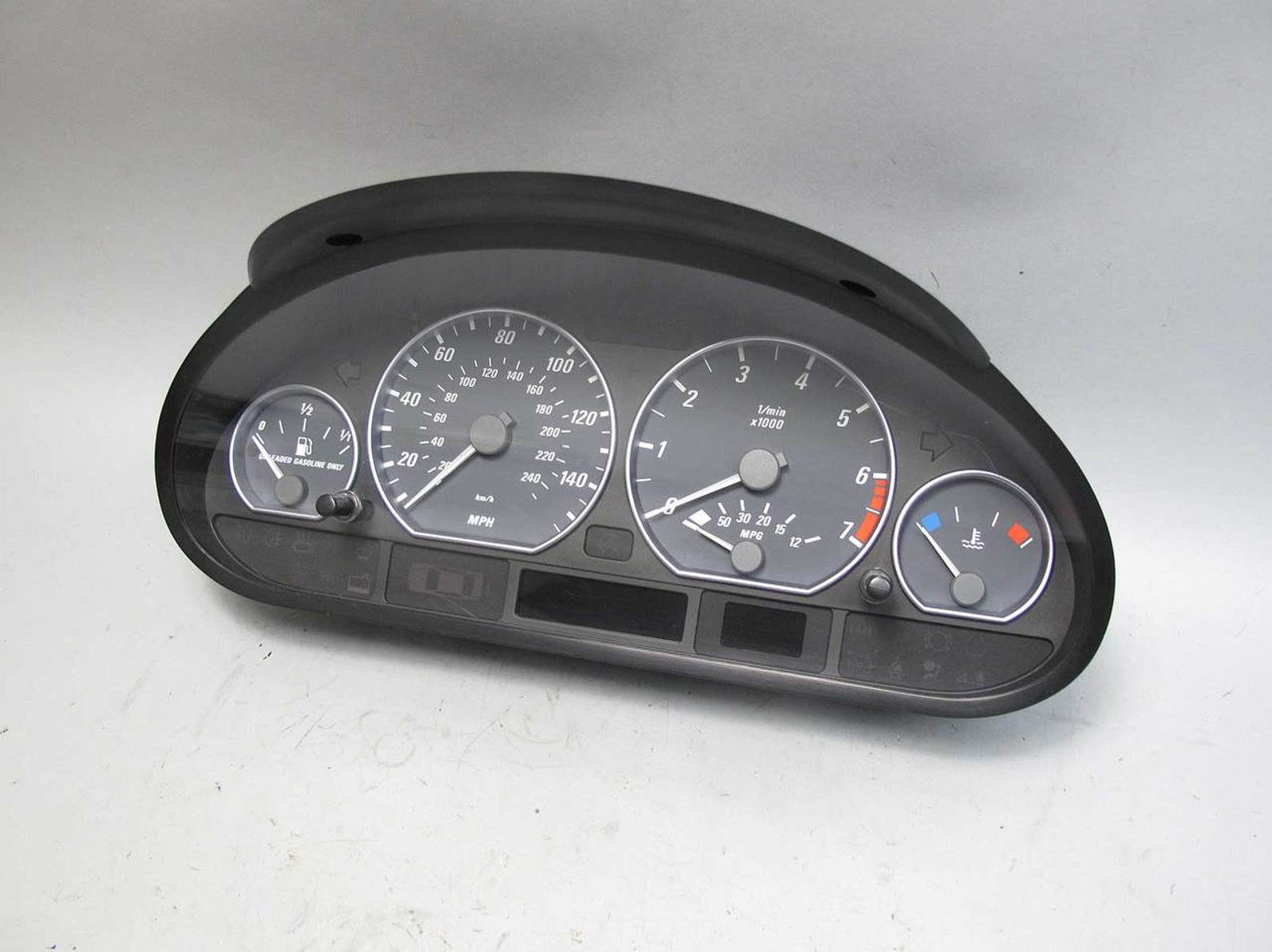 2001 Bmw E46 330ci Coupe Convertible Instrument Gauge Cluster 4 Auto Or Smg 22781 Prussian Motors
