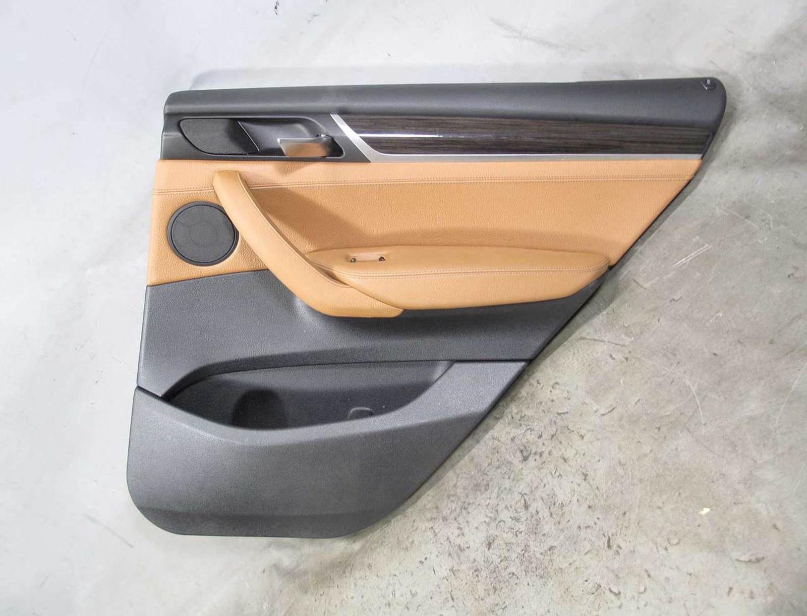 2011-2017 BMW X3 Passenger Side Rear Right Door Window Glass