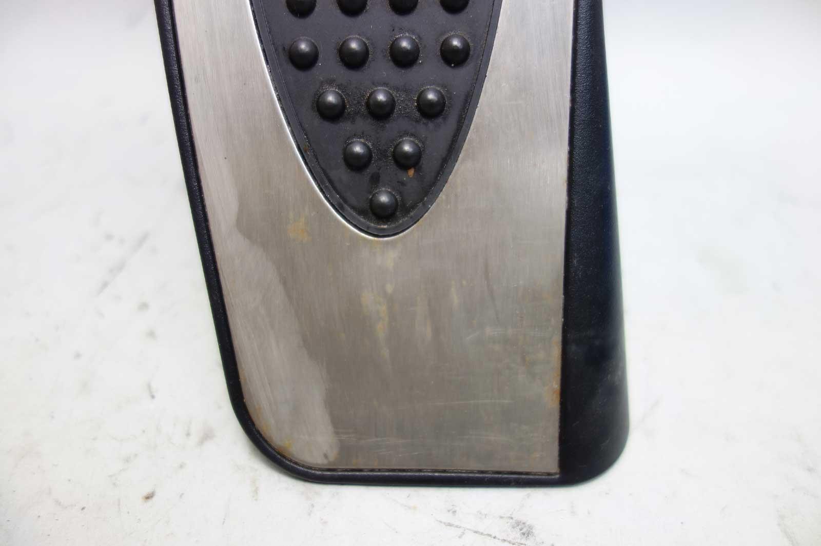 2006-2013 BMW E90 3-Series 1-Series ///M Dead Pedal Foot Rest Black  Aluminum - 24240