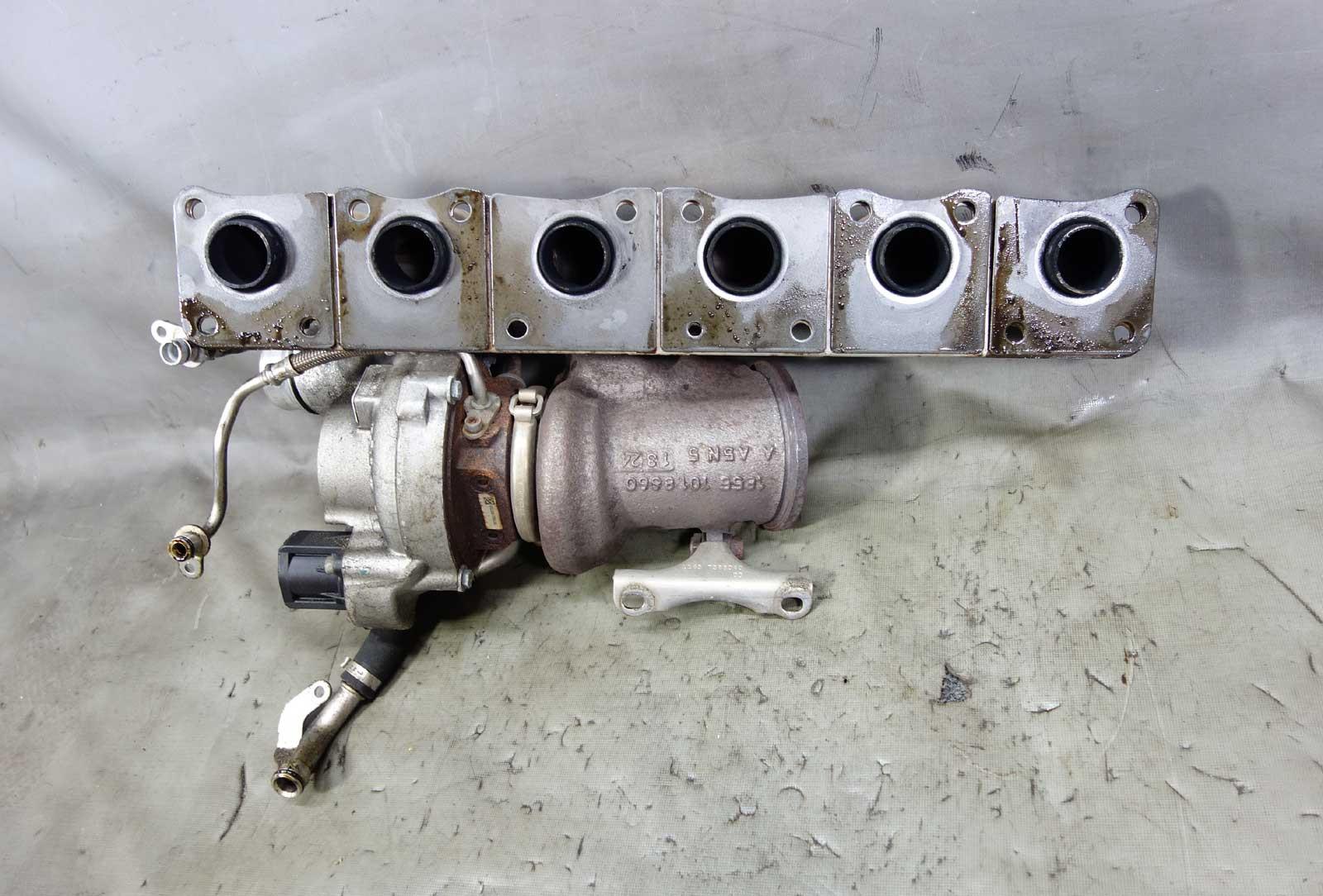 2011-2015 BMW N55 3 0L Single Turbo Manifold Assembly E82 E90 F30 OEM 81K -  24301