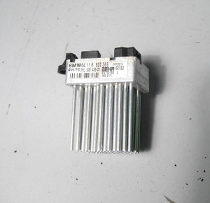 BMW E46 3-Series Blower Motor Resistor Final Stage Unit 1999-2006 X3 OEM USED