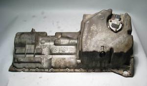 BMW M54 M52TU Aluminum Engine Oil Pan w/ Level Sensor E46 E85 Z4 USED OEM