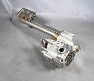 BMW S85 5.0L V10 M5 M6 Main Oil Pump w Sprocket Gear Pickup Tube 2006-2010 OEM