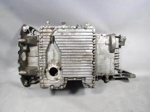 BMW E53 X5 V8 SAV 4.4i 4.6is Engine Oil Pan Upper Lower 2000-2003 OEM USED