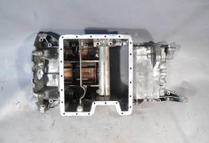 BMW E53 X5 SAV 4.4i 4.6is M62TU V8 Oil Pan Upper Section 2000-2003 USED OEM