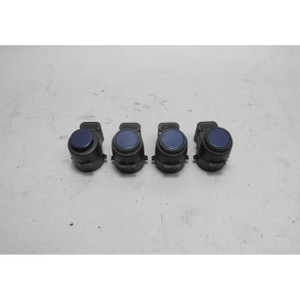 06-13 BMW E90 3-Series Parking Distance Control PDC Front Rear Sensor Set Blue