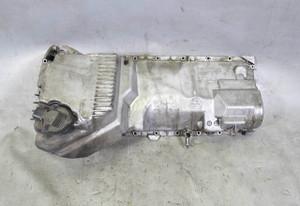 BMW E39 E60 5-Series M52TU M54 6Cyl Oil Pan w Cross-Threaded Drain Plug USED