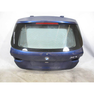 2013-2015 BMW E84 X1 SAV Factory Rear Trunk Boot Tail Hatch Panel Window Blue OE